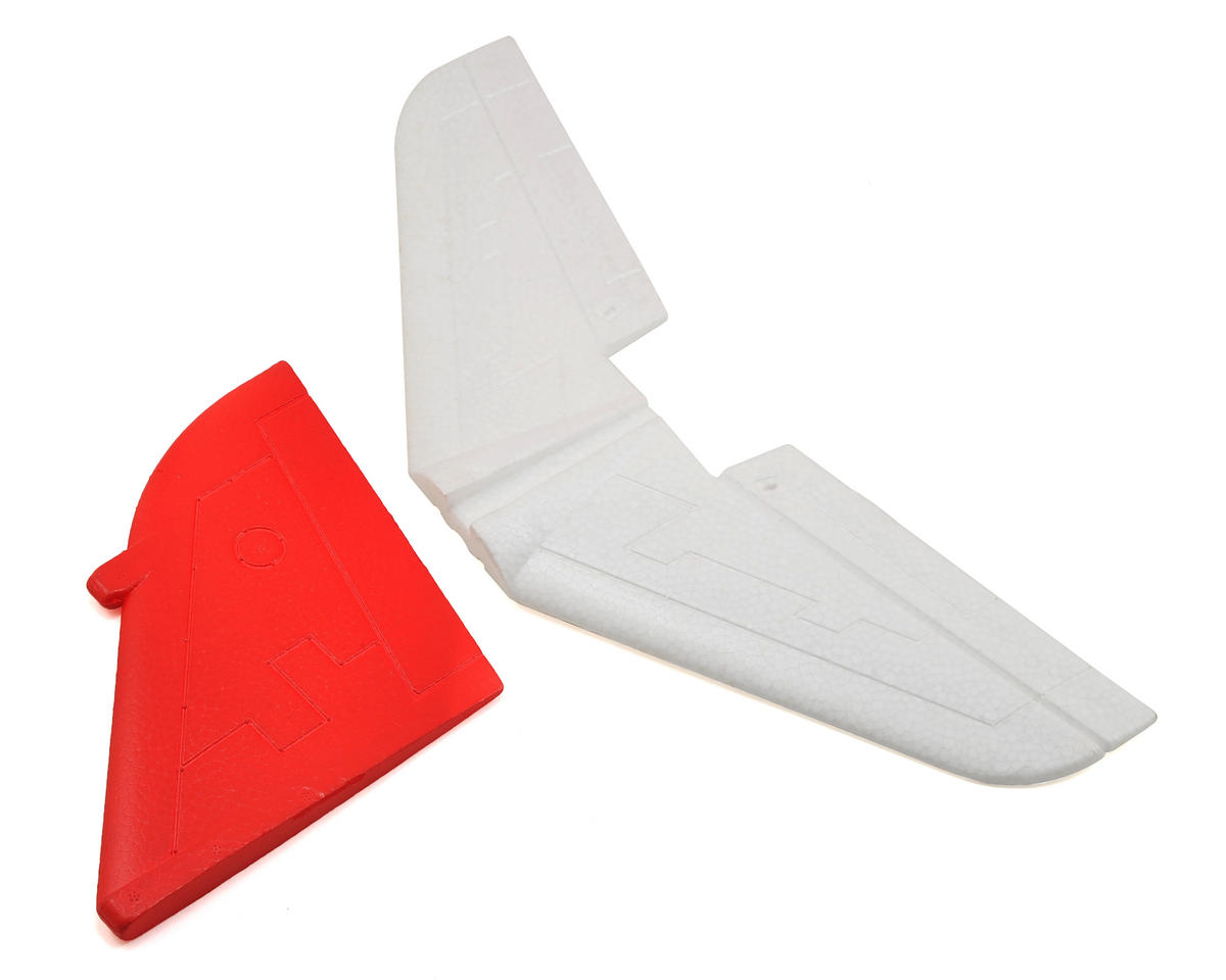 Goshawk Tail Set (No Decals) by Volantex T-45 R/C
