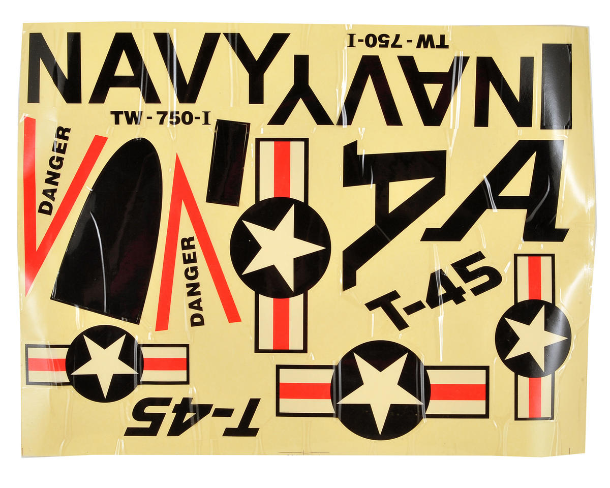 Volantex Goshawk T-45 R/C Decal Set