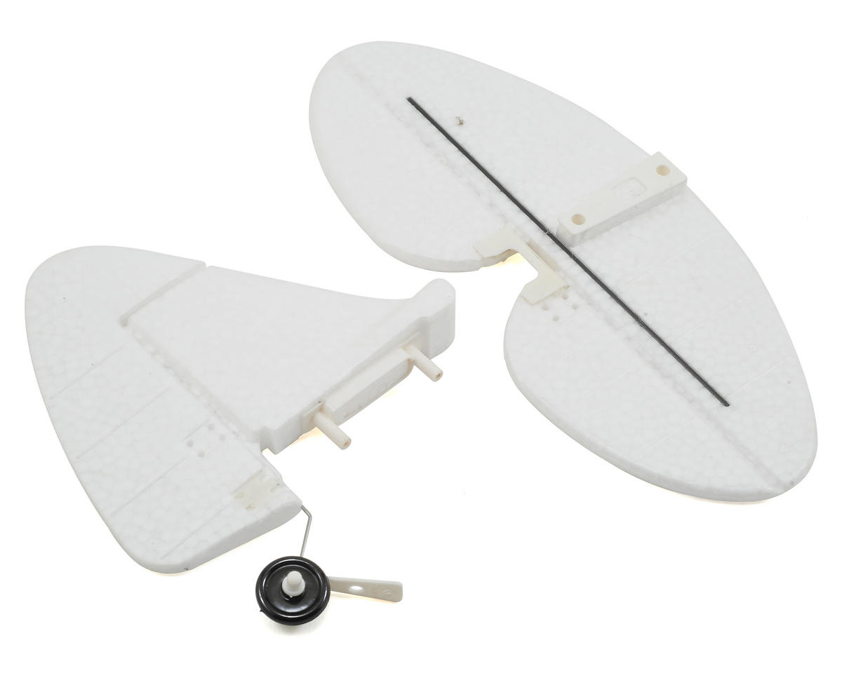 Super Cub Tail Set (No Decals) by Volantex R/C