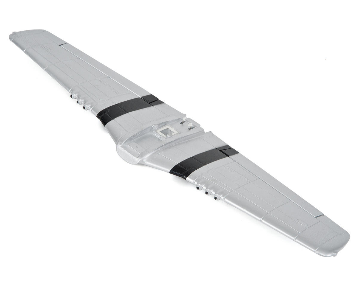 Volantex R/C P-51D 4-Channel Main Wing (No Decals) (Silver)