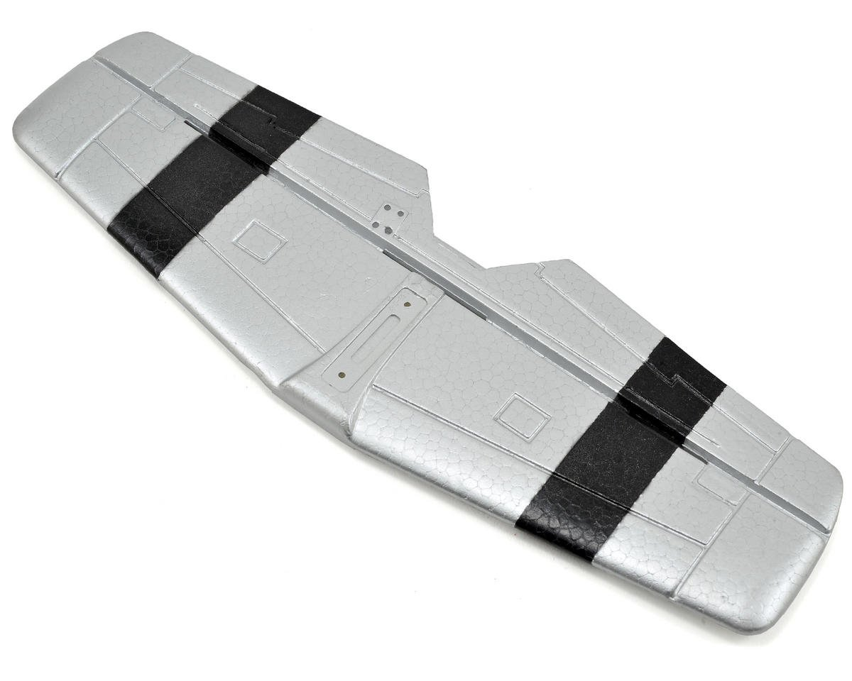 Volantex R/C P-51D Tail (No Decals) (Silver)