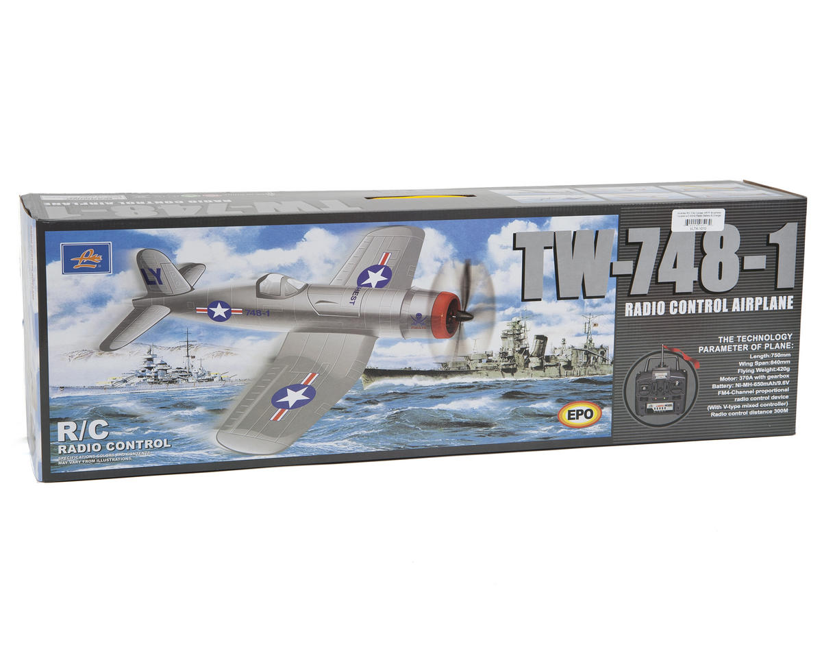Volantex R/C F4U Corsair PNP Electric Brushless Airplane