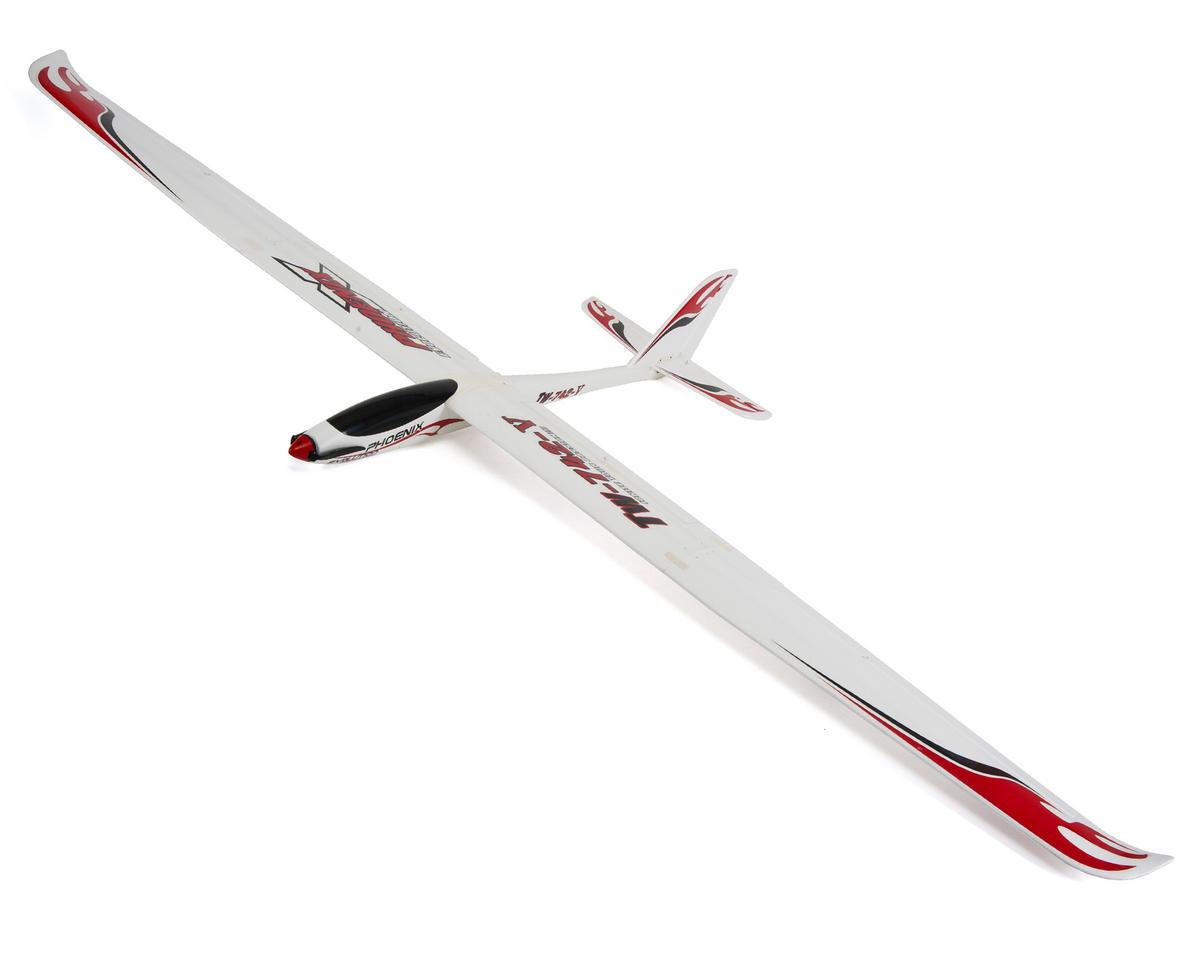 volantex r c phoenix evolution pnp brushless glider sailplane vltx