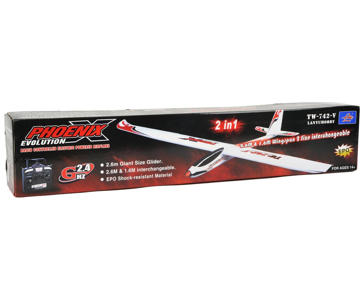 Volantex R/C Phoenix Evolution PNP Brushless Glider Sailplane