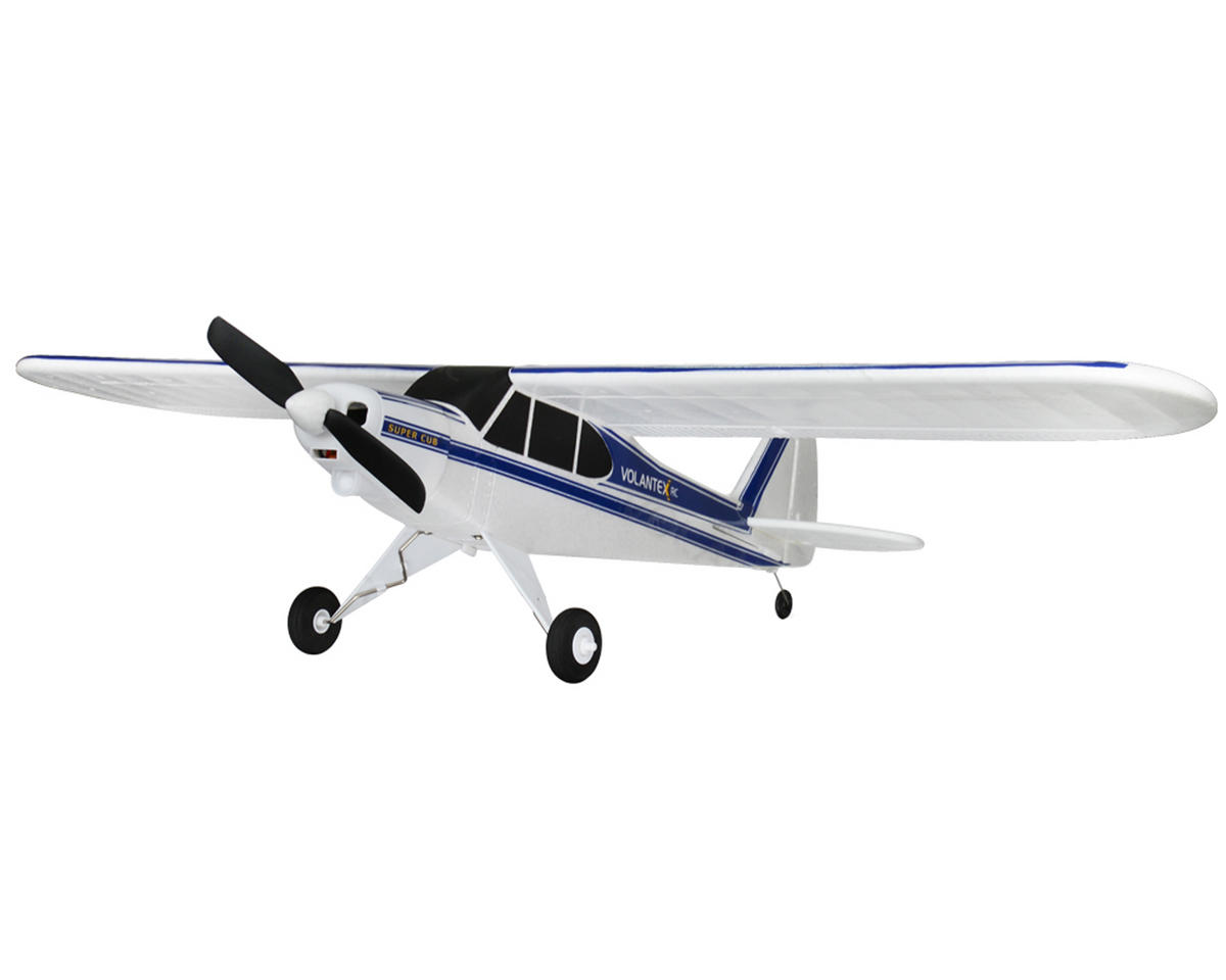 Volantex R/C Super Cub PNP Sport Park Flyer Electric Brushless Airplane