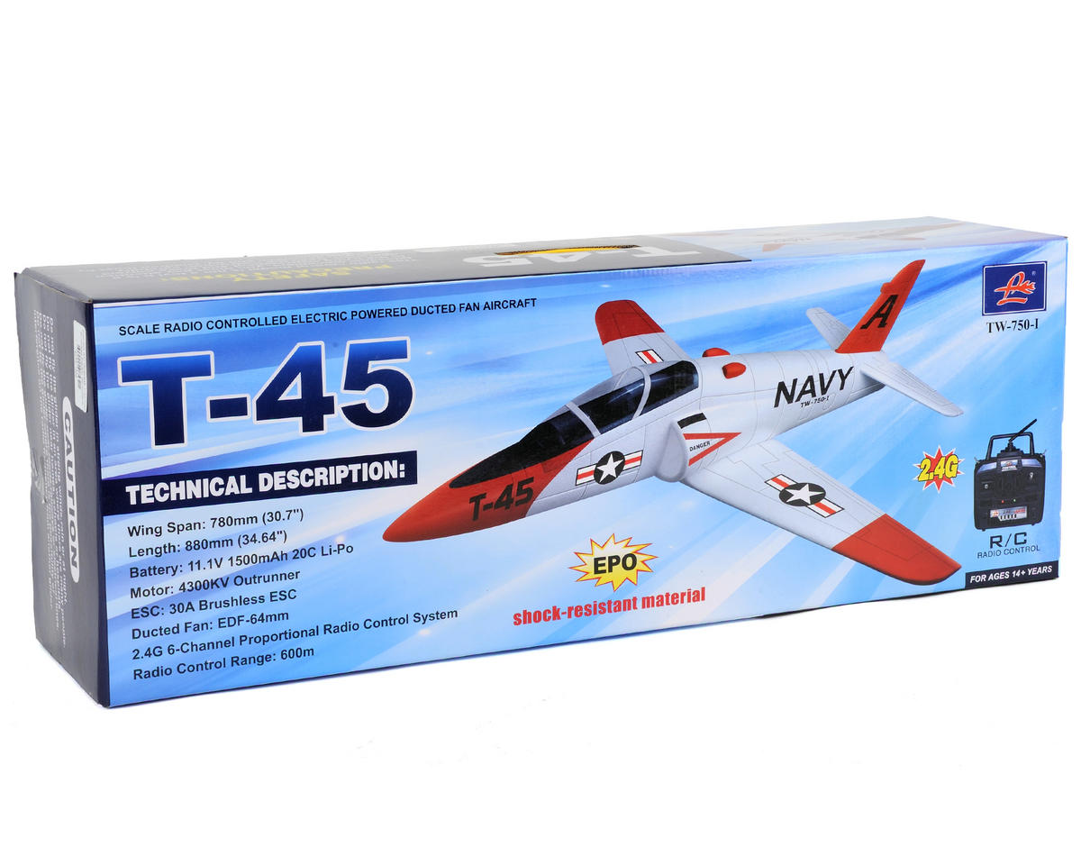 Volantex R/C Goshawk T-45 PNP Brushless Electric Jet Airplane