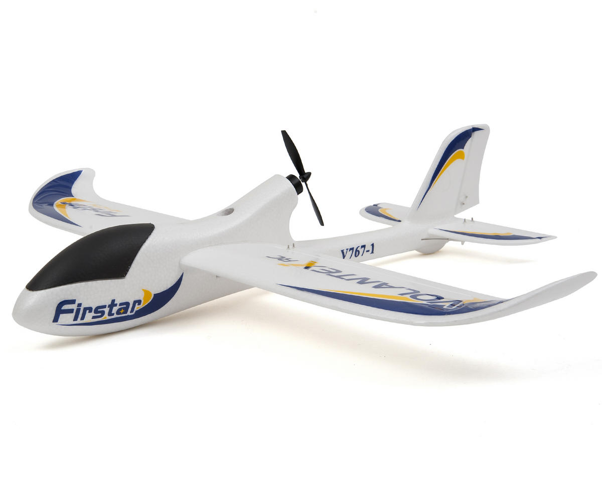 Volantex R/C FirStar RTF 3 Channel Brushless Electric Pusher Airplane