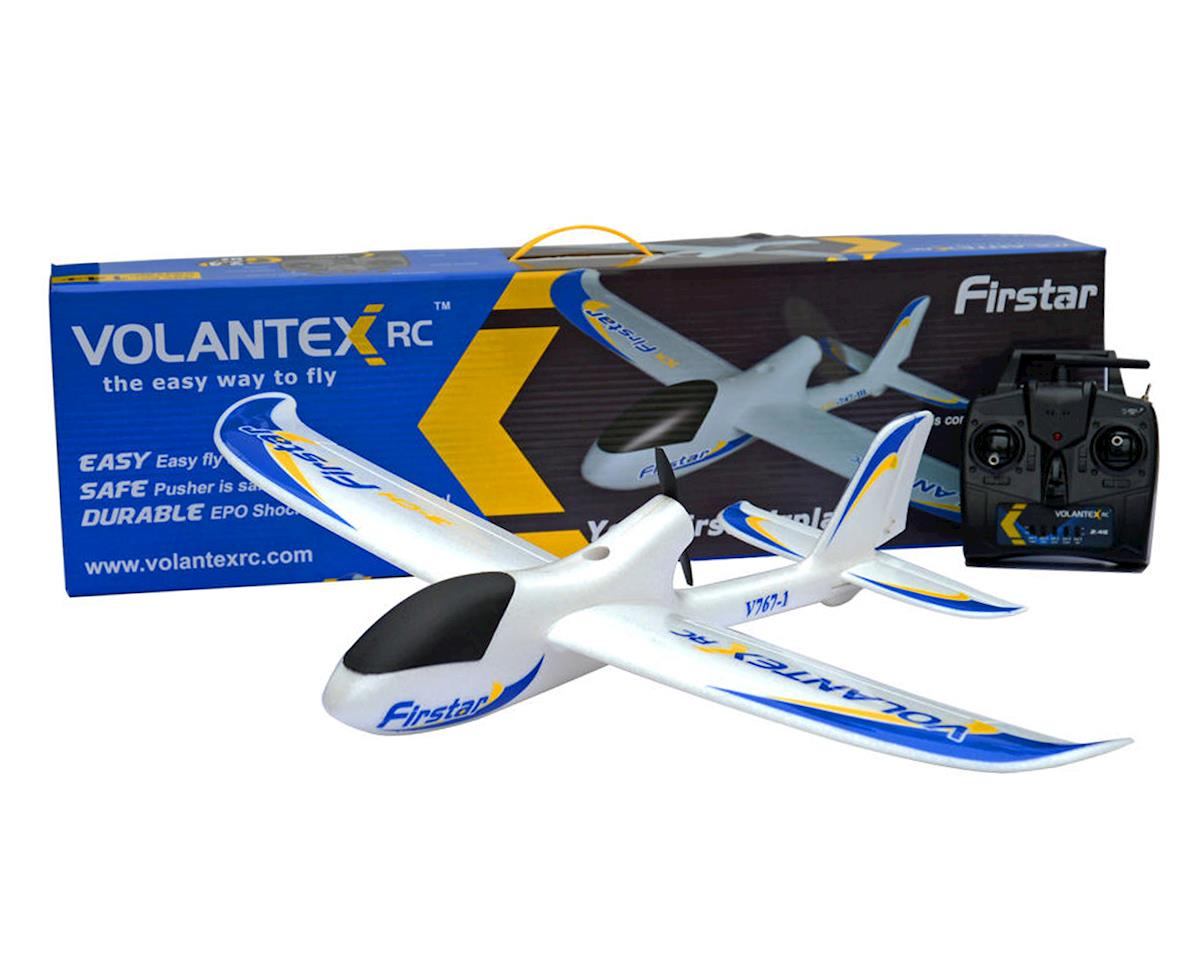 Volantex R/C FirStar RTF 3 Channel Brushed Electric Pusher Airplane