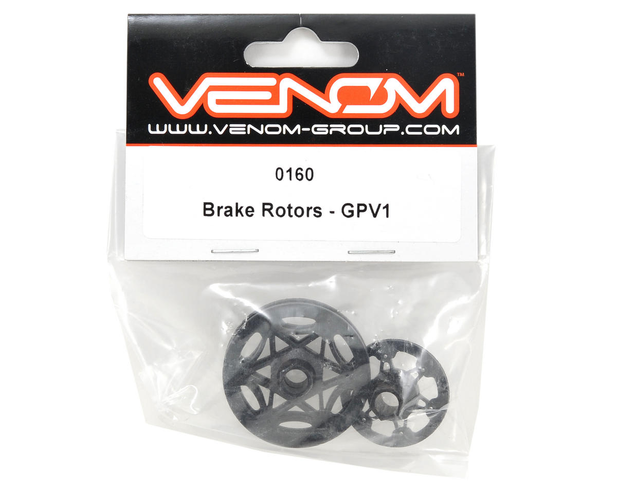 Venom Brake Rotor Set