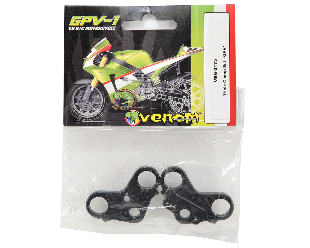 Venom Power Triple Clamp Set