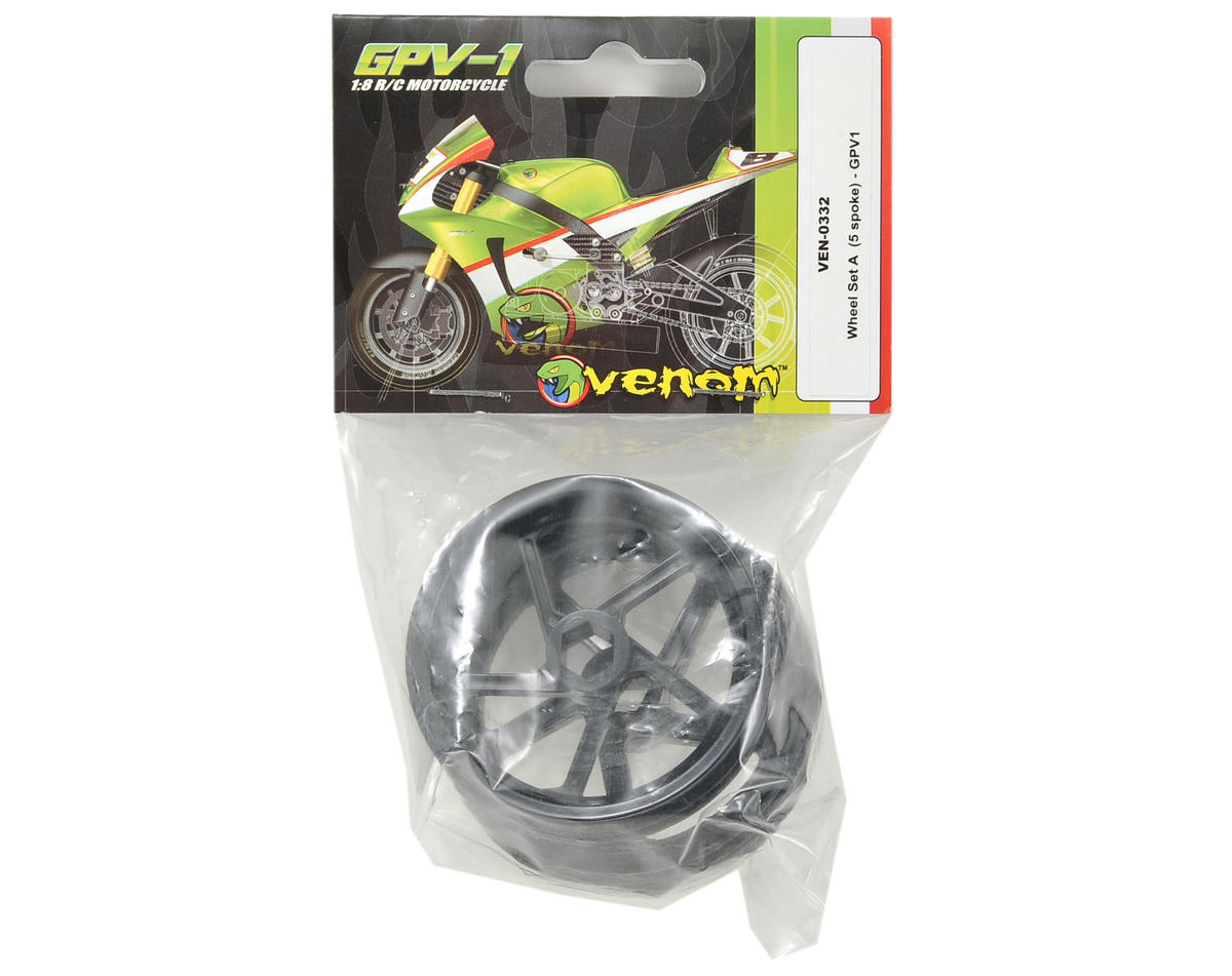 "Venom 5 Spoke Wheel Set ""A"" (2)"
