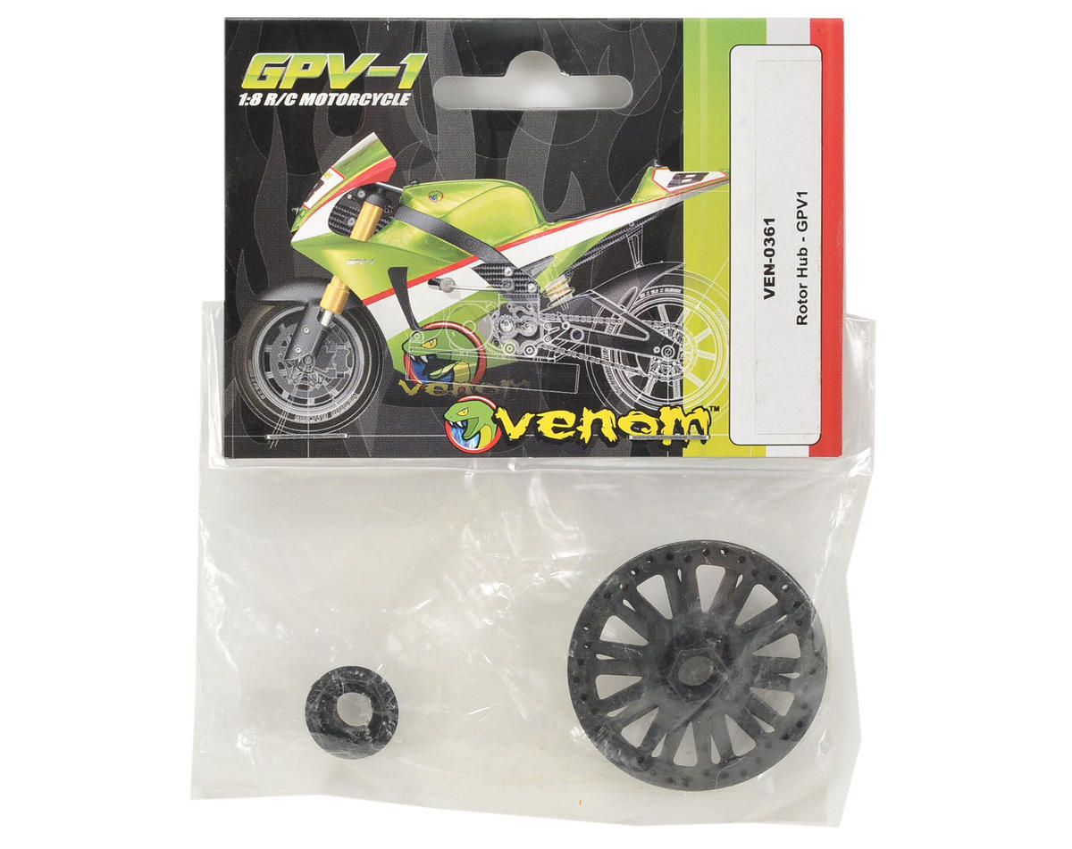 Venom Brake Rotor & Rotor Hub Set