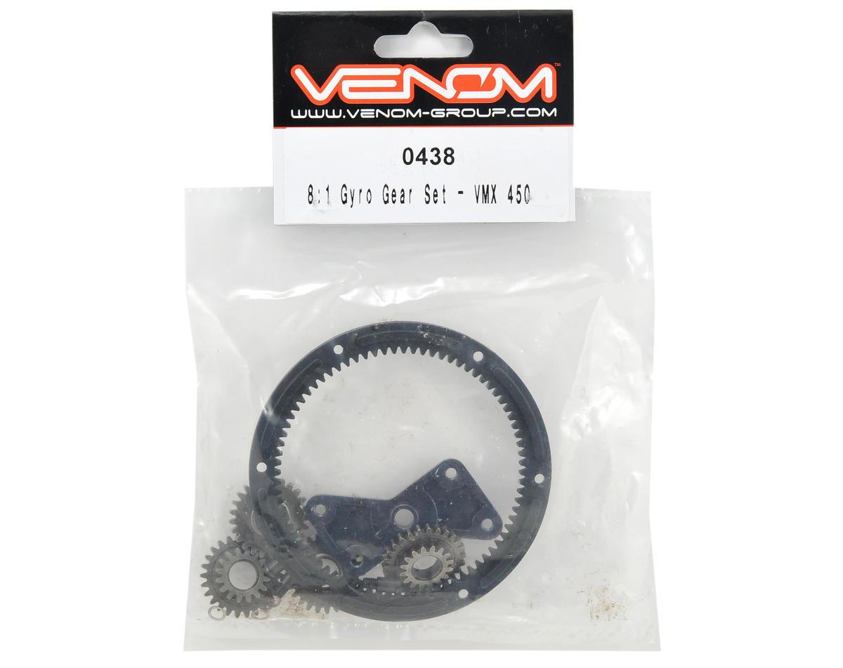 Venom 8:1 Gyro Gear Set