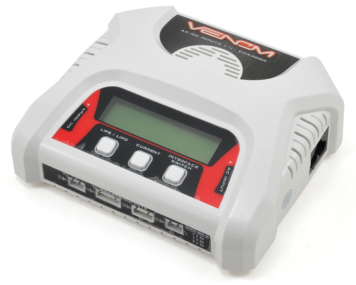 Venom Power AC/DC LiPo Balance Battery Charger (4S/3A/40W)