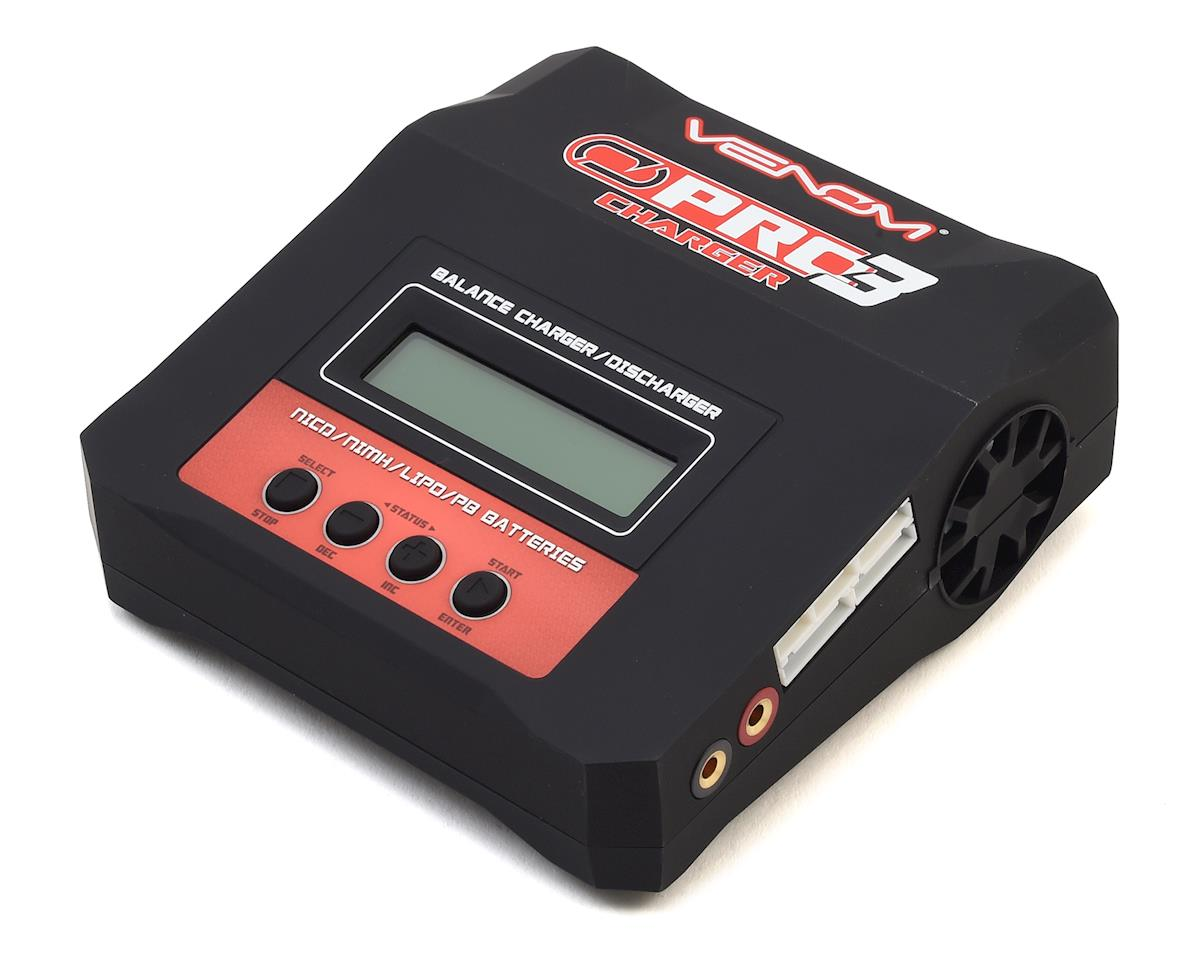 Pro 3 AC/DC LiPo Balance Battery Charger (6S/7A/100W) by Venom Power