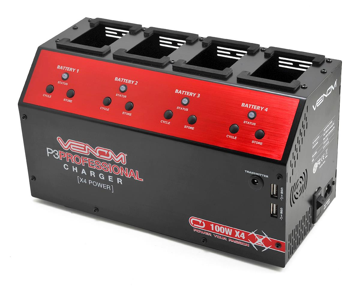 P3 Pro DJI Phantom 3 Quad Battery Charger by Venom