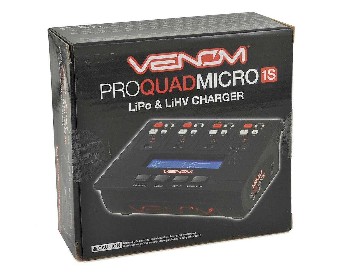 Venom Power Pro Quad Micro 1S 4 Channel AC/DC LiPo & LiHV Charger