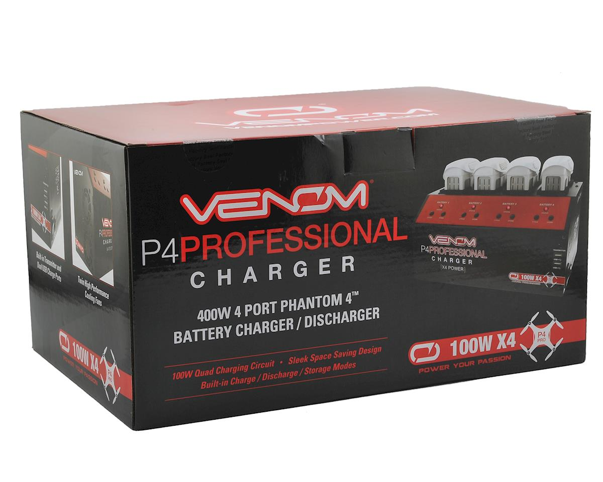 Venom Power P4 DJI Phantom 4 4-Channel Drone Battery Charger (100W x4)