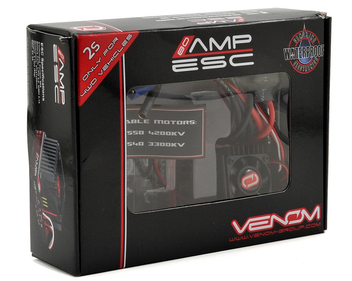 Venom 80A Waterproof Sensorless Brushless ESC