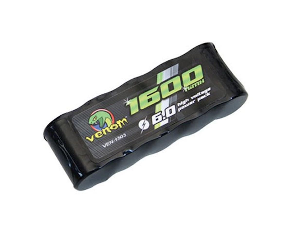 5 Cell 6V 1600mAh NiMH Flat Receiver Battery by Venom Power
