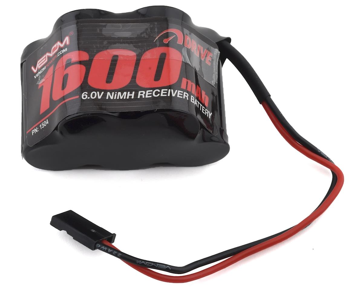 Venom Power 5 Cell 6V 1600mAh NiMH HUMP Rx Battery