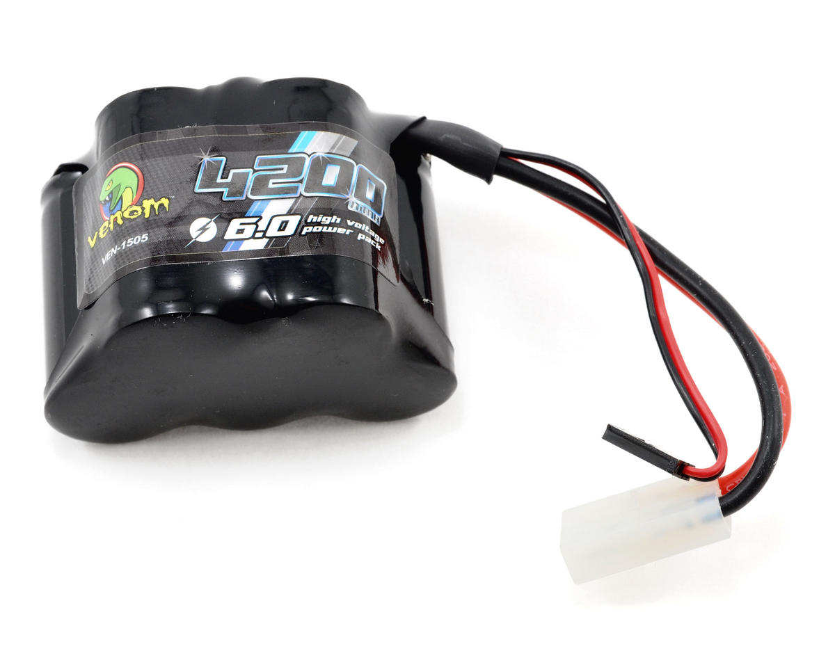 Venom Power HPI Baja 5B/5T 5 Cell 6V NiMH Receiver Battery Pack (4200mAh)