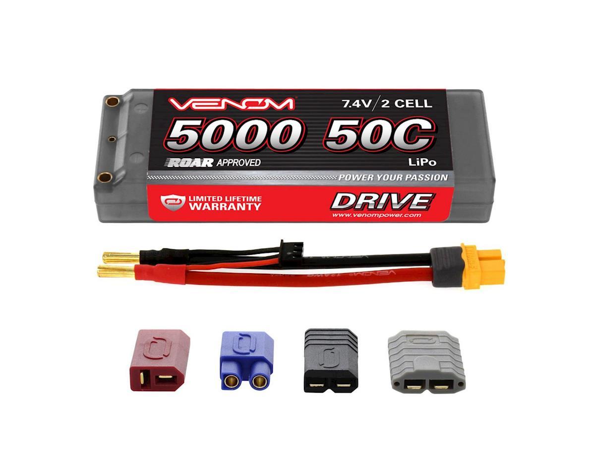 Venom Power 50C 2S 7.4V 5000mah LiPo Hardcase, ROAR, UNI