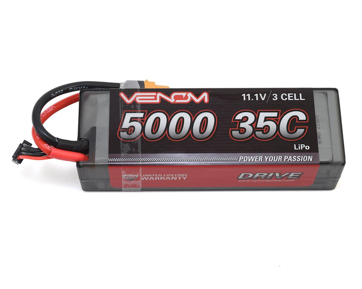 Venom Power 3S 35C Hard Case LiPo Battery w/Universal Connector (11.1V/5000mAh)