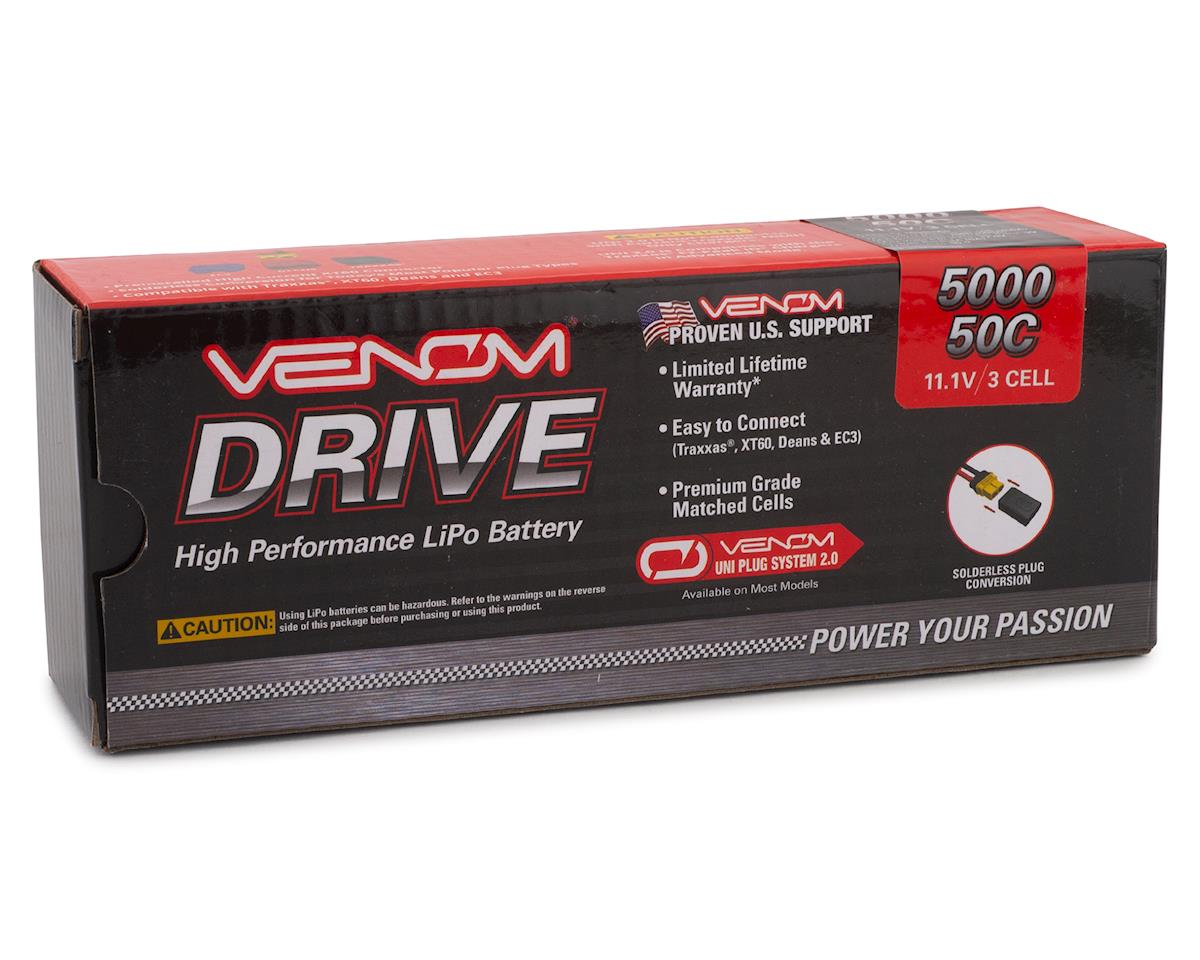 Venom Power 3S LiPo 50C Hardcase Battery Pack w/XT90-S (11.1V/5000mAh)