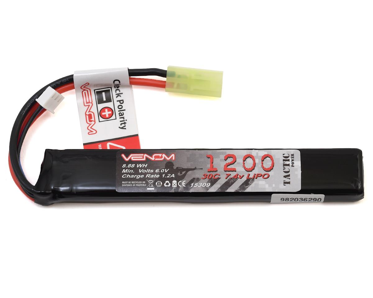 2S 30C Airsoft LiPo Stick (7.4V/1200mAh) by Venom Power