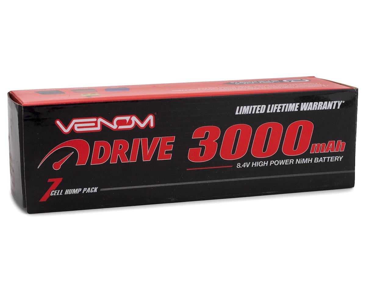 Venom Power 7 Cell NiMH Hump Battery w/Universal Connector (8.4V/3000mAh)