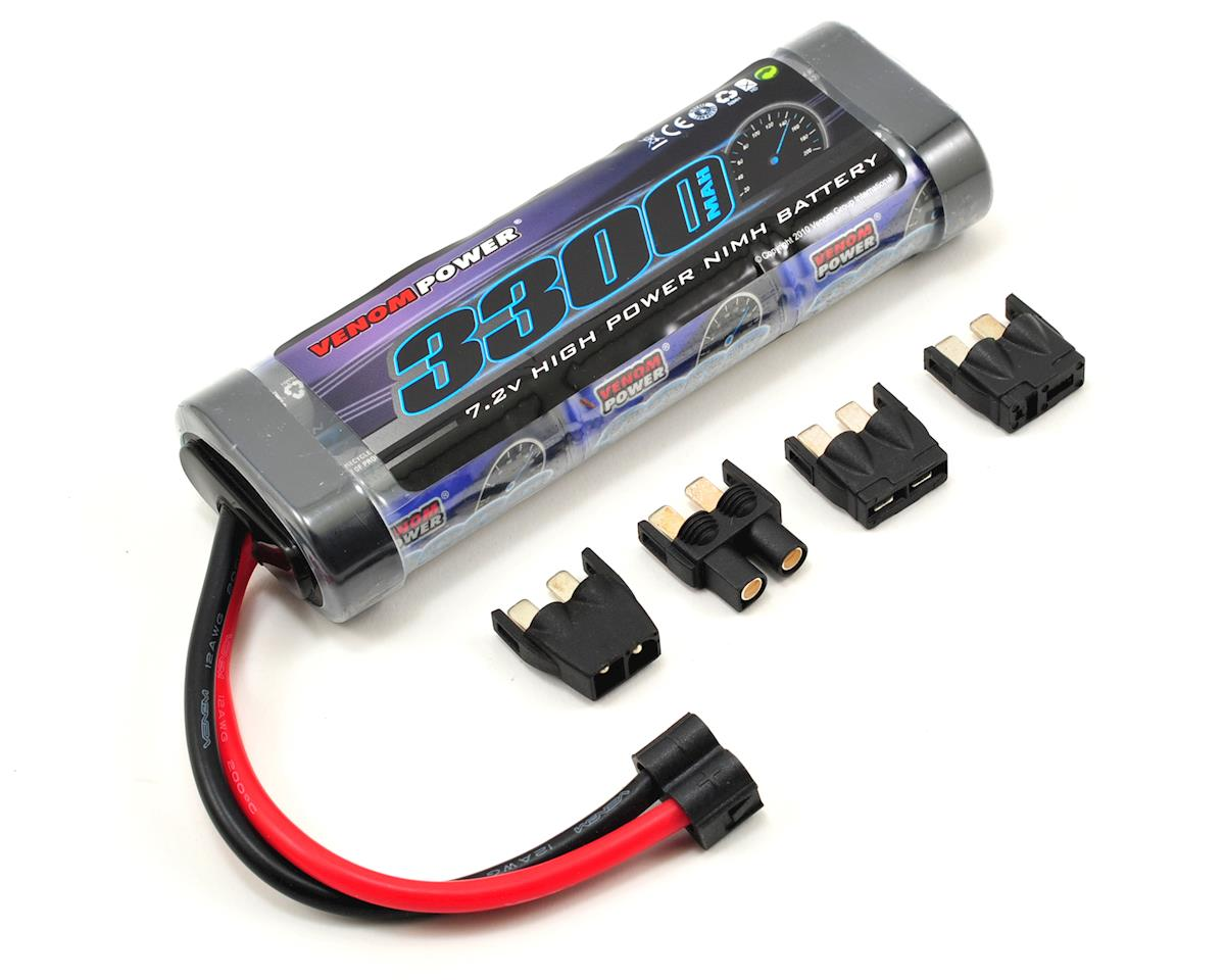Venom Power 6 Cell NiMH Battery w/Universal Connector (7.2V/3300mAh)