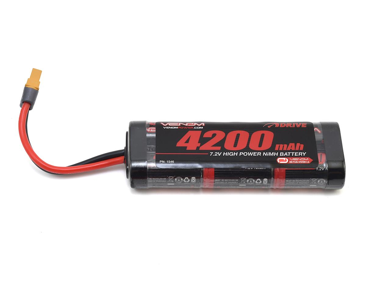 Power 6 Cell 7.2V NiMH Stick Battery Pack w/Universal Connector (4200mAh)