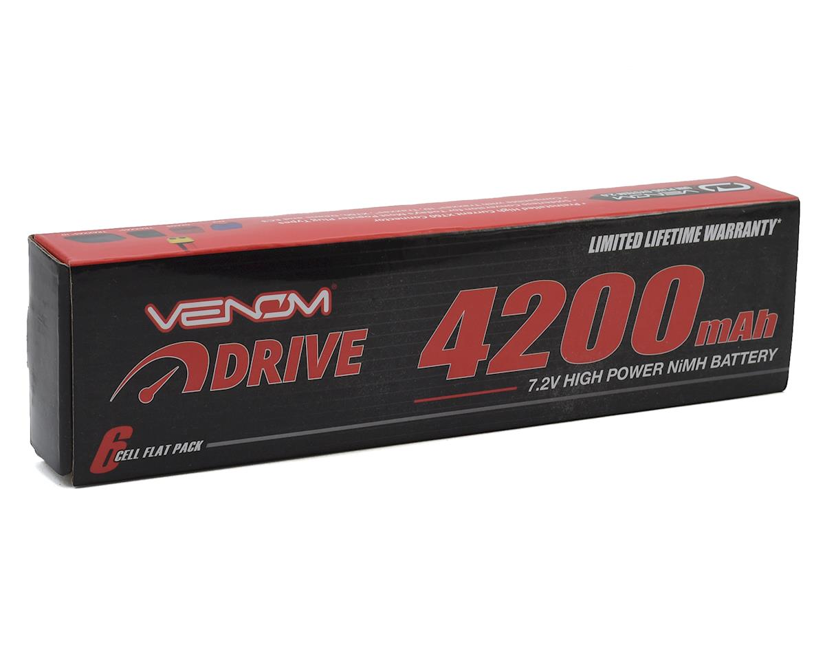 Venom Power 6 Cell 7.2V NiMH Stick Battery Pack w/Universal Connector (4200mAh)