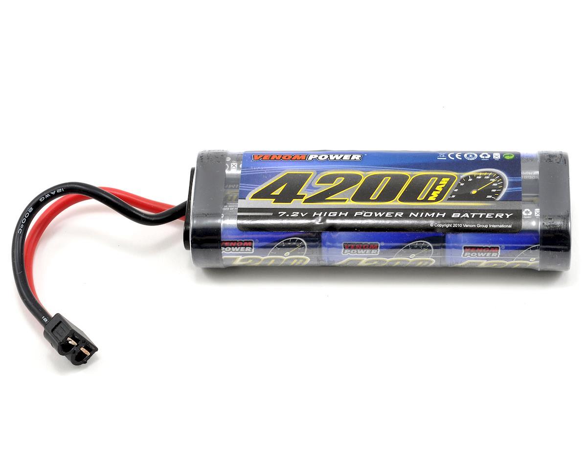 Venom Power 6 Cell 7.2V NiMH Stick Battery Pack w/Universal Connector (4200mAh)