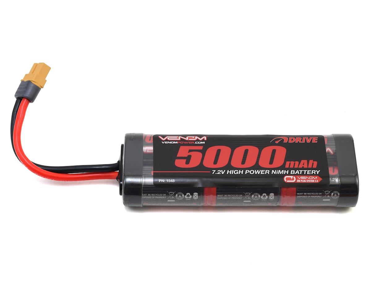 6 Cell 7.2v 5000mAh NiMH Battery w/UNI 2.0 by Venom Power