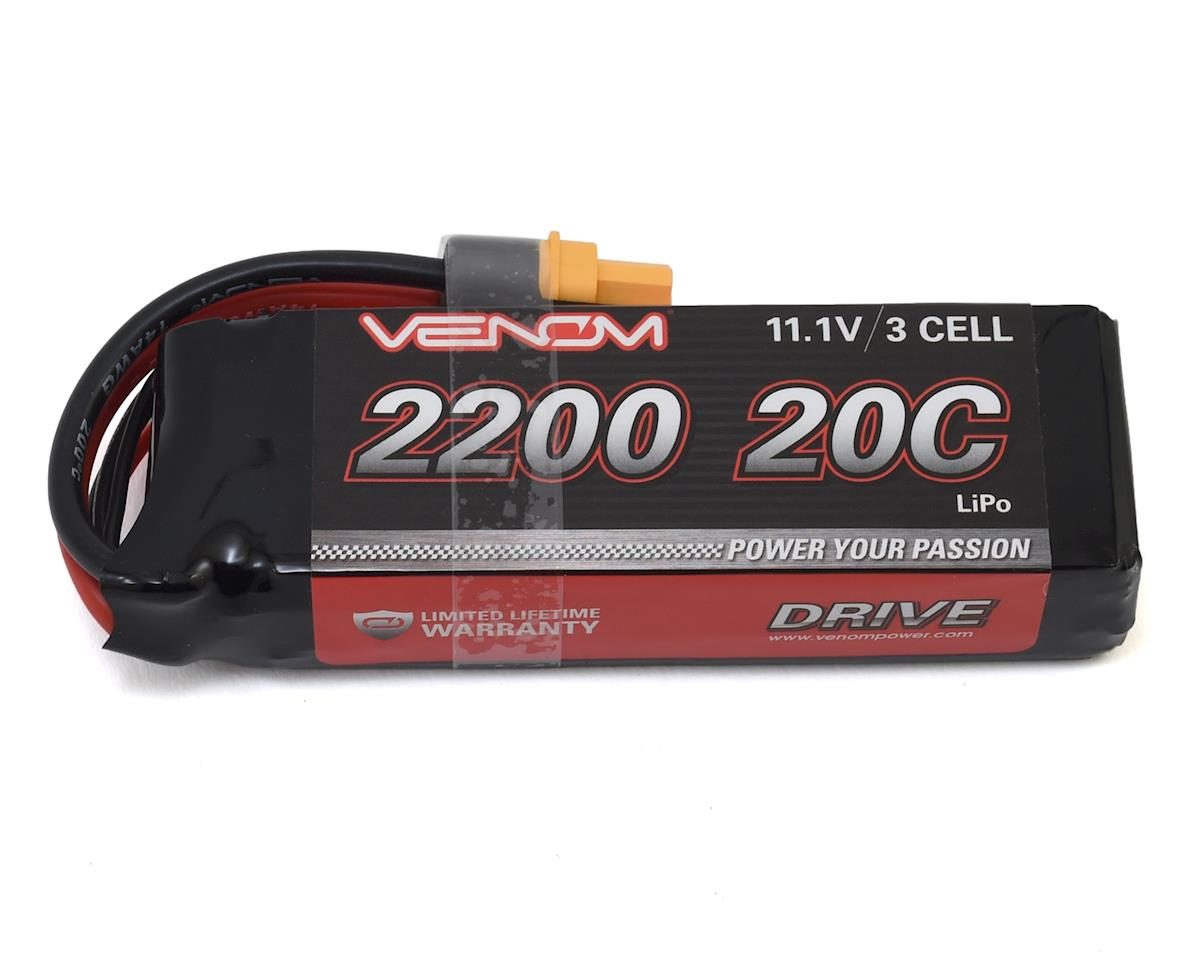 3S Soft Pack 20C LiPo Battery w/UNI 2.0 Connector (11.1V/2100mAh) by Venom Power