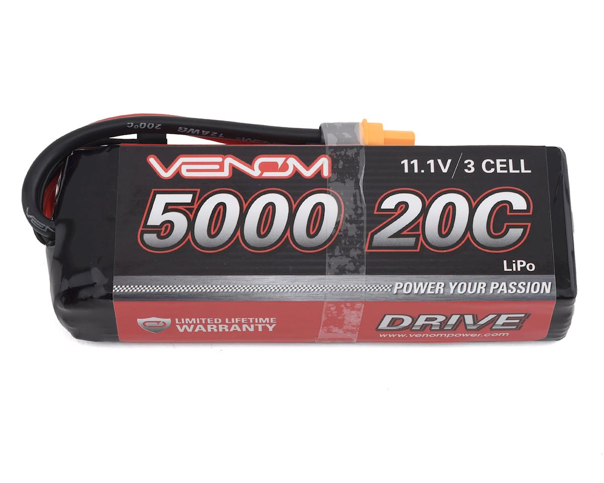Venom Power 3S LiPo 20C Battery Pack w/Universal Connector (11.1V/5000mAh)