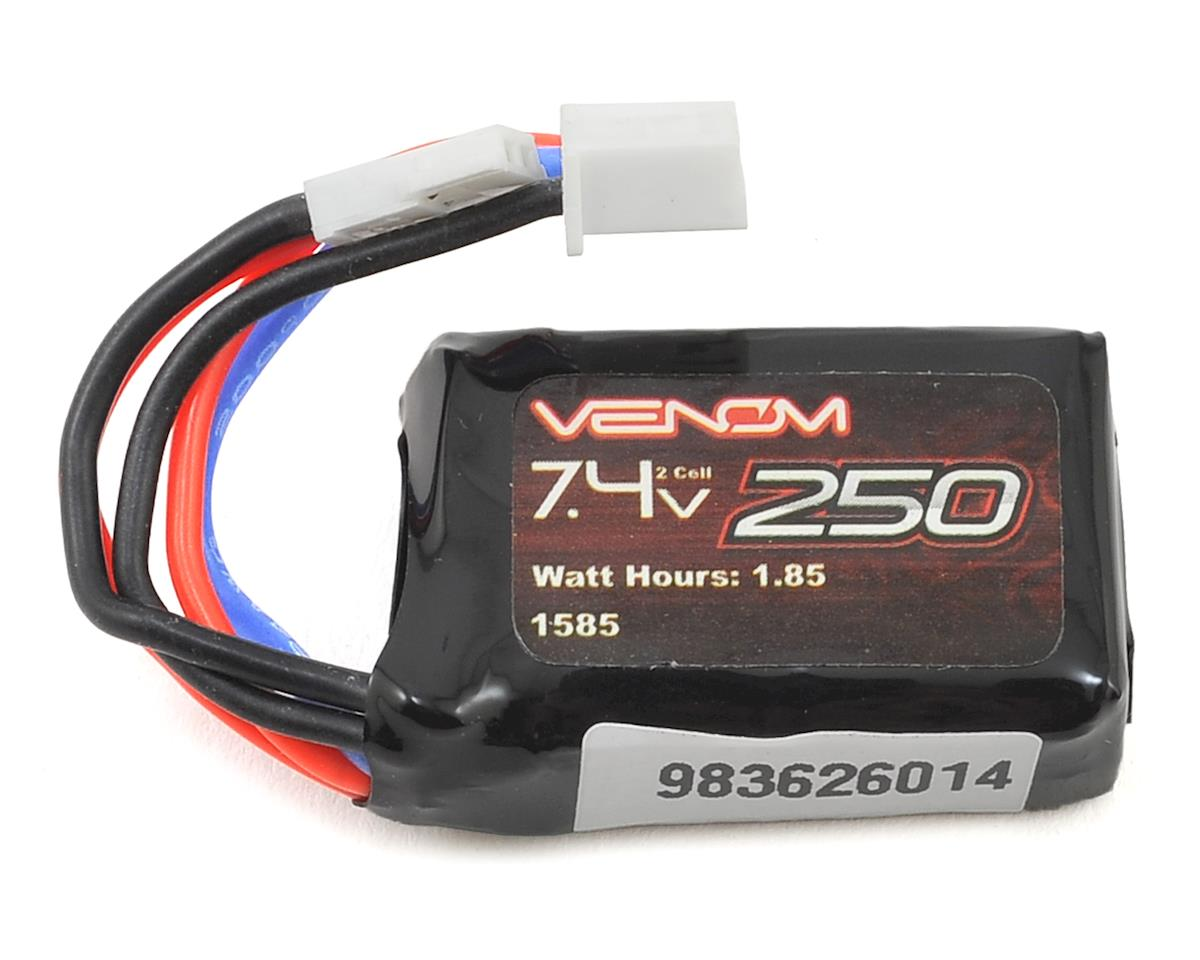 Venom 2S 15C Micro LiPo Battery Pack w/Molex Connector (7.4V/250mAh)