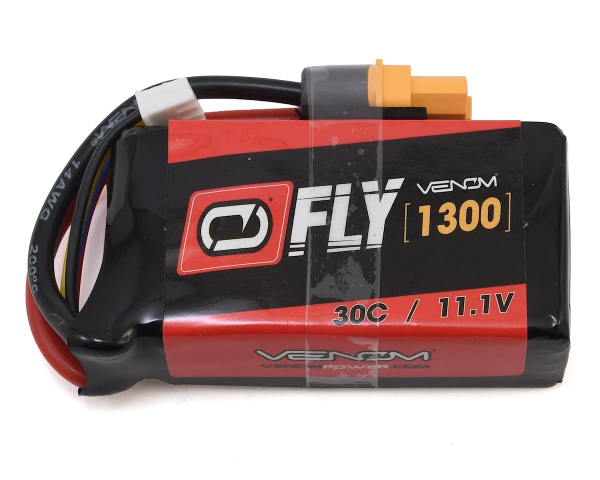 SCRATCH & DENT: Venom Power 3S 30C LiPo Battery w/Uni 2.0 (11.1V/1300mAh)