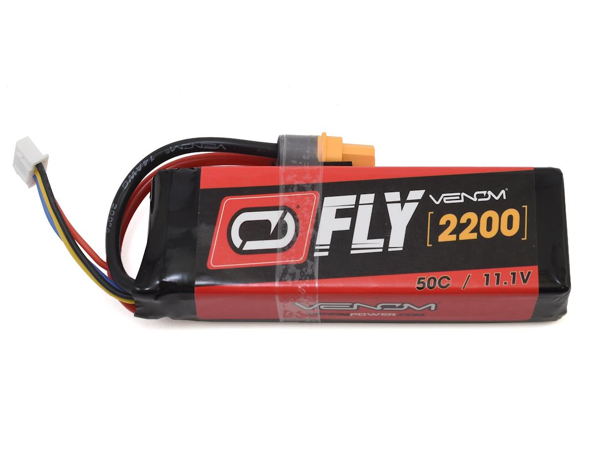 Venom Power 3S 50C LiPo Battery w/Uni 2.0 (11.1V/2200mAh)