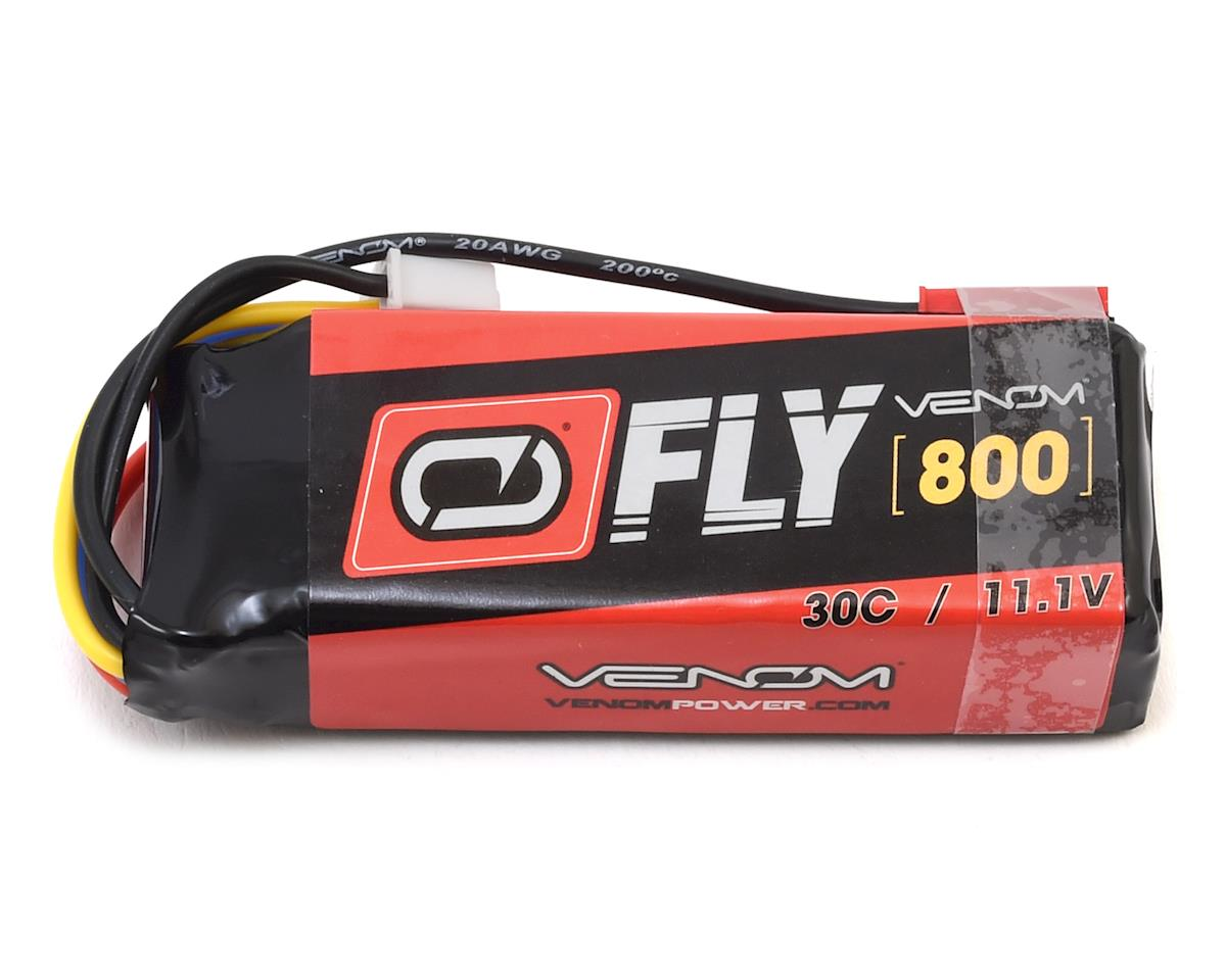 Venom Power Fly 3S 30C LiPo Battery w/JST (11.1V/800mAh)