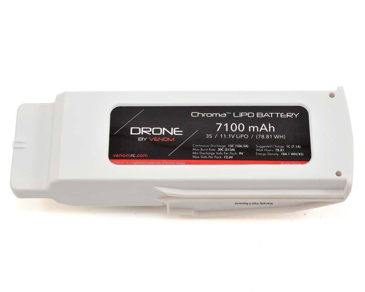 Blade Chroma 3S LiPo 15C Battery Pack (11.1V/7100mAh)