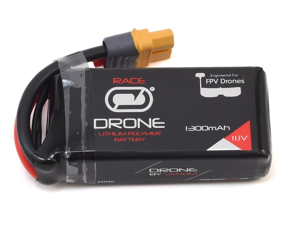 Drone FPV 3S 50C LiPo Battery w/UNI 2.0 Connector (11.1V/1300mAh) by Venom Power