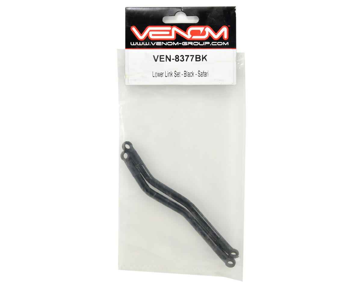 Venom Safari Lower Link Set (Black)