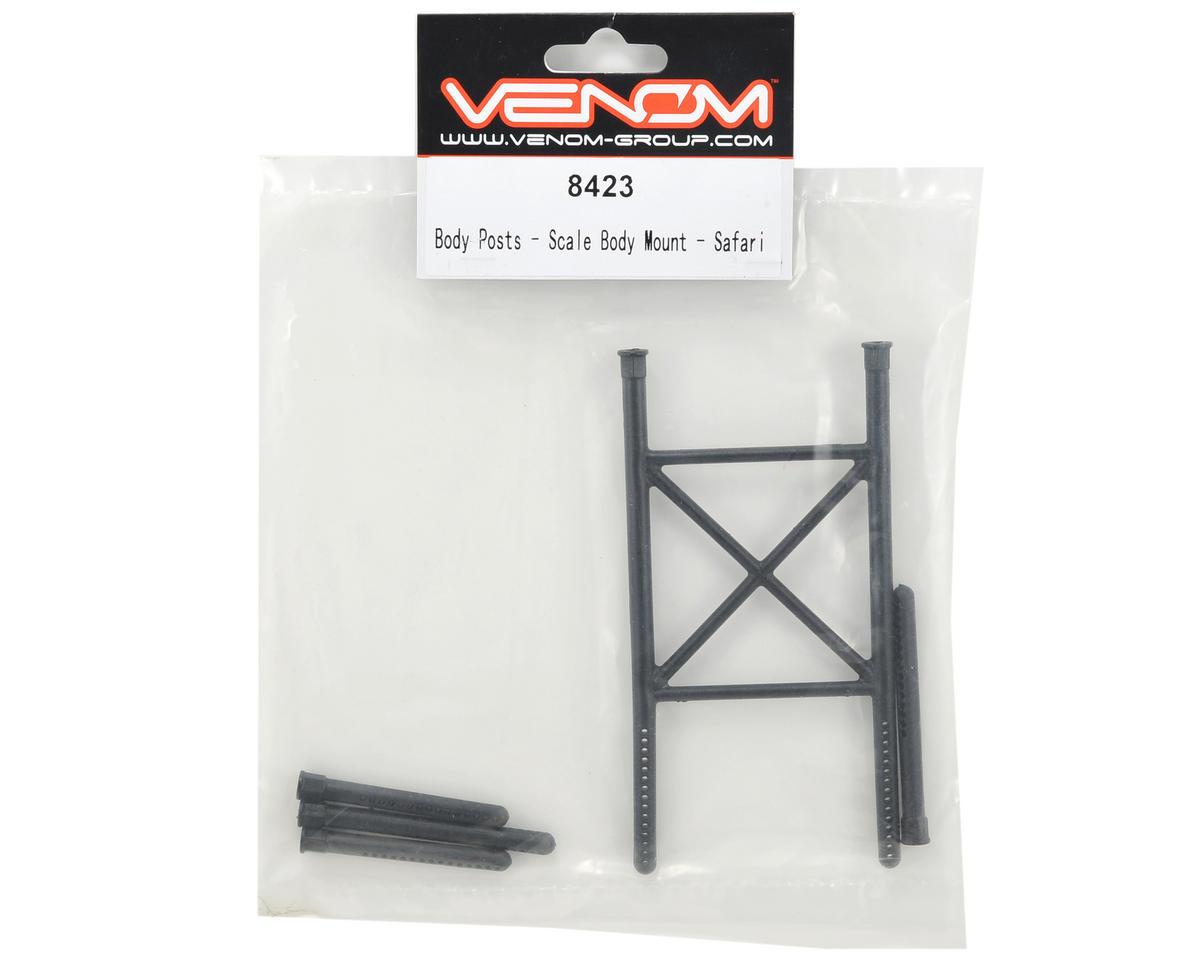 Venom Safari Scale Body Mount Post Set