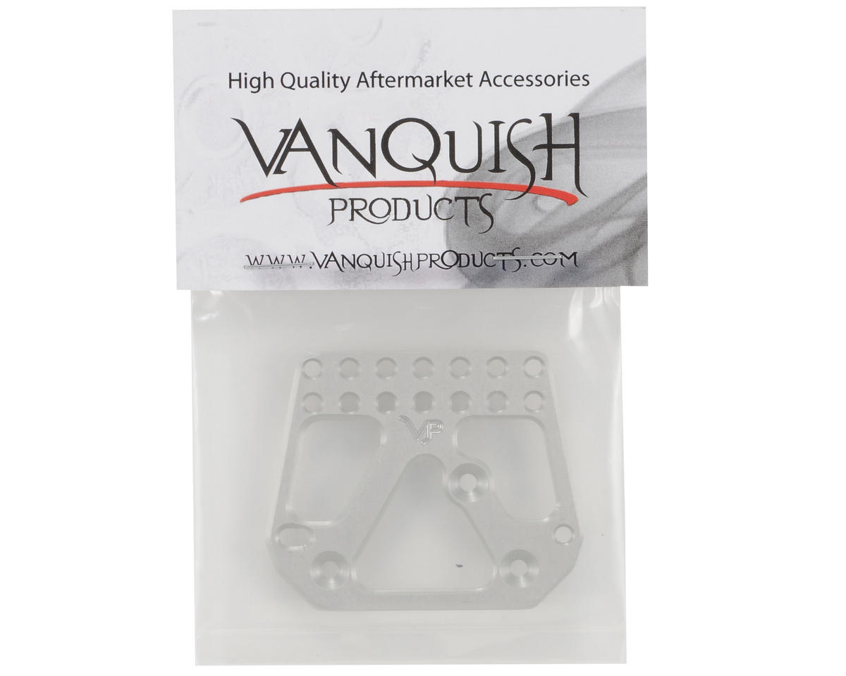 Vanquish Products Incision Rear 4 Link Servo Plate (Silver)