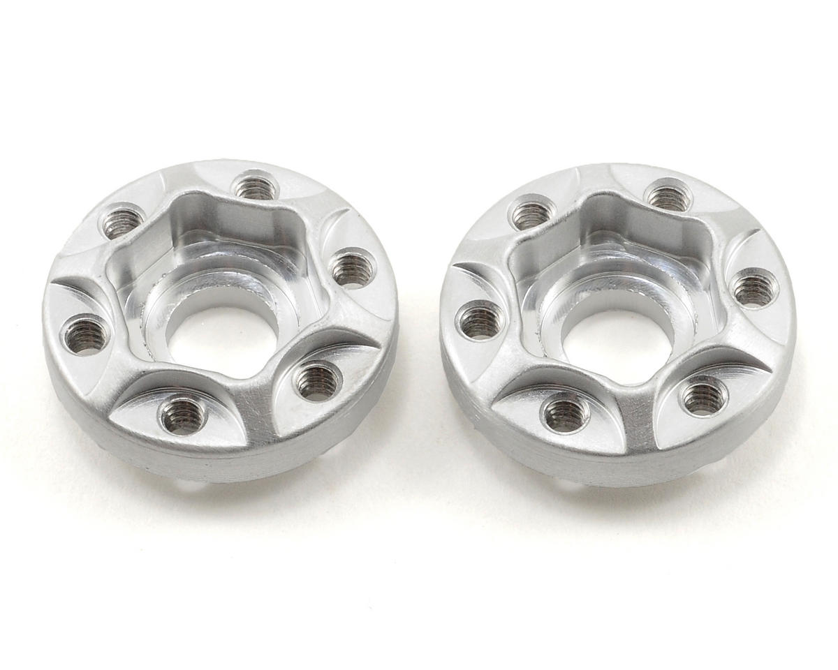 Vanquish Products SLW Hex Hub Set (Silver) (2) (225) (Axial AX10)