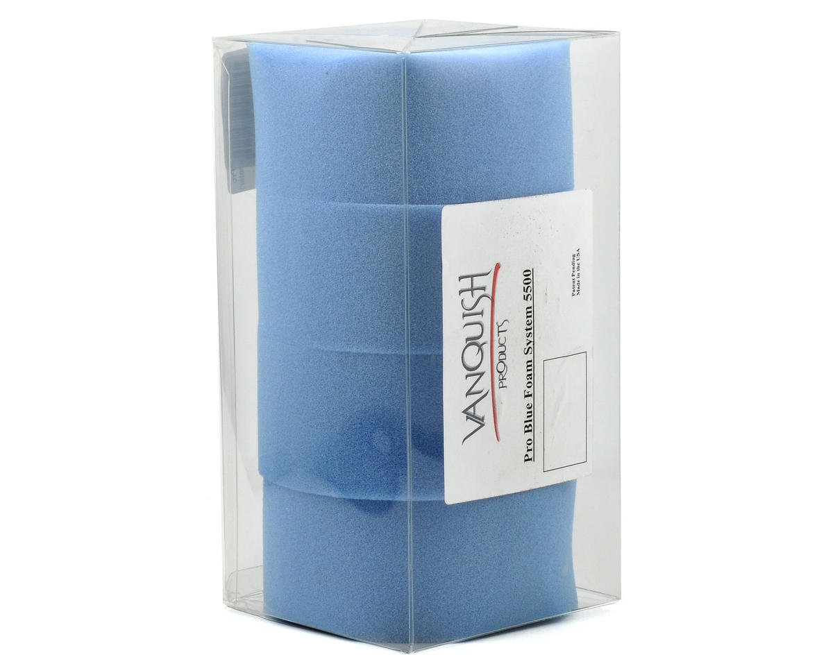 Vanquish Products 5500 Series 2.2 Pro Foam (Blue - 5.5 Inch Diameter) (4)