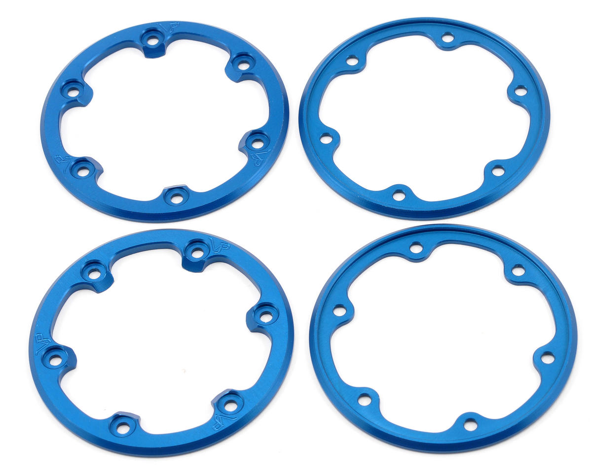 Vanquish Products SLW Beadlock Rings (Blue) (2 Inside/2 Outside)